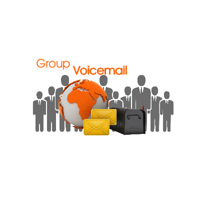 group vmail icon