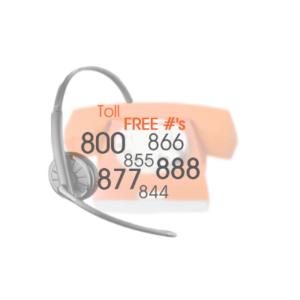 toll free icon